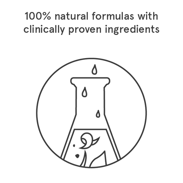 natural formulas with clinically proven ingredients