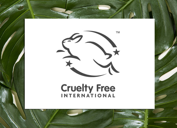 Cruelty Free International certified with 100% natural ingredients