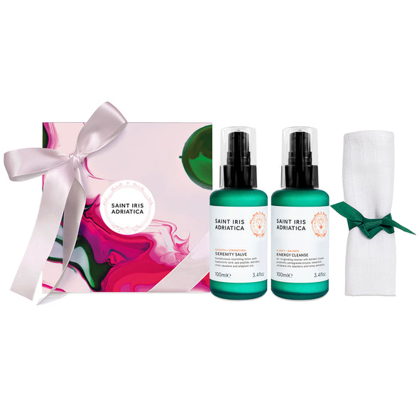 daily care set with cleanser and lotion by saint iris