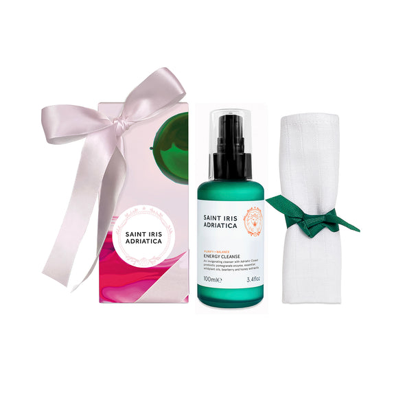 daily cleanser to brighten, soften, nourish skin on face and body