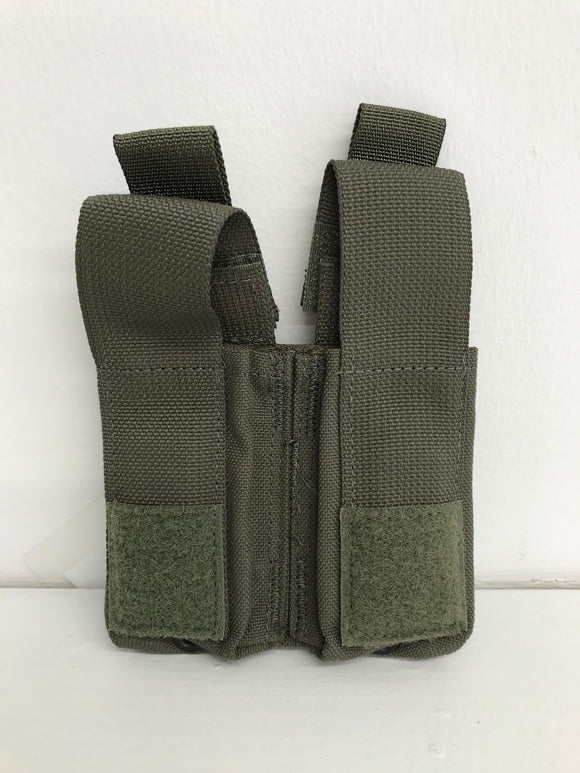Diamondback Tactical Double 9mm/40cal Pistol Magazine Pouch  W/ DetLoc Blue Line Innovations