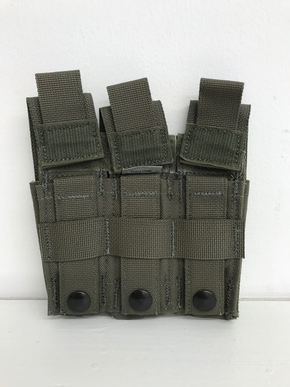 Diamondback Tactical Battlelab BLPM08-6 Pistol Mag Pouch with Detloc .45 cal Ranger Green Blue Line Innovations