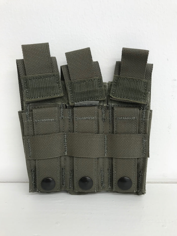 Diamondback Tactical Battlelab BLPM08-6 Pistol Mag Pouch with Detloc .45 cal Ranger Green