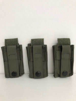 Diamondback Tactical BattleLab BLPA01 Single 9mm/40cal Pistol Magazine Pouch with DetLoc Blue Line Innovations