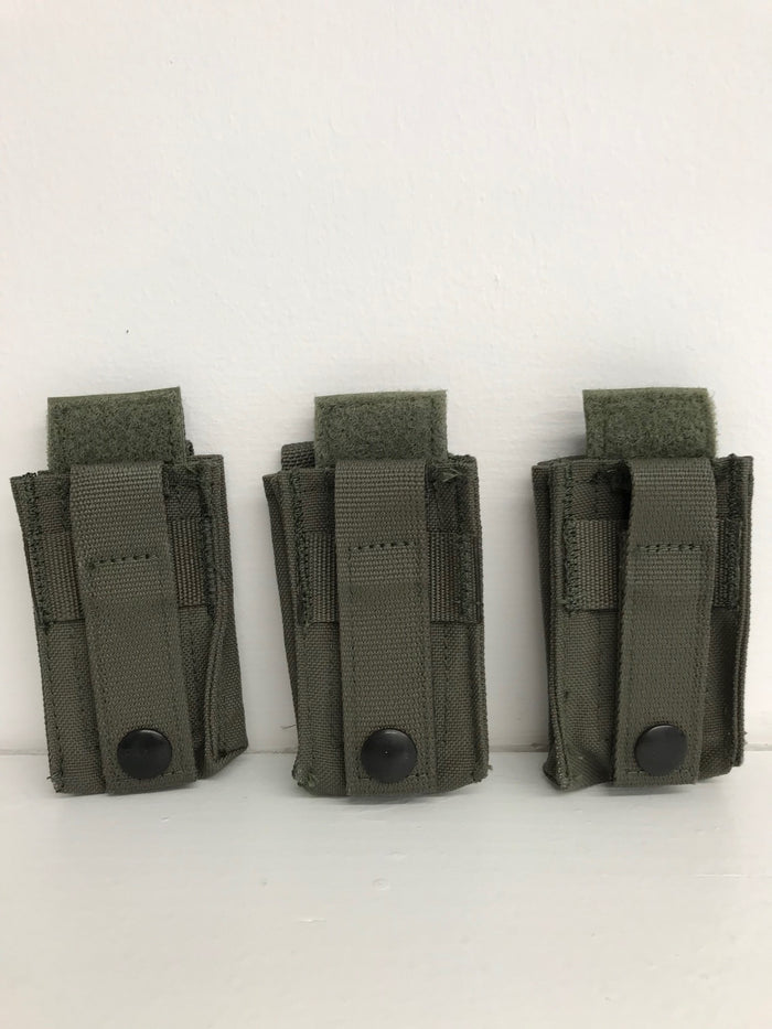 Diamondback Tactical BattleLab BLPA01 Single 9mm/40cal Pistol Magazine Pouch with DetLoc