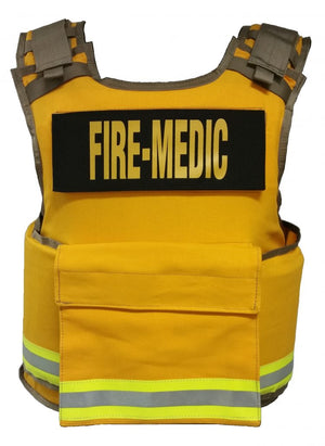 tactical medical ballistic vest firefighter body armor