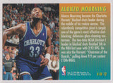 Alonzo Mourning Charlotte Hornets Fleer 1995-96 Total D #4 - TheCollectorsClub