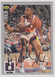 Malcolm Mackey Phoenix Suns Upper Deck Collector's Choice 1994-95 Silver Signature #127