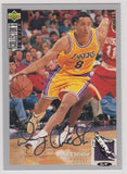 Doug Christie Los Angeles Lakers Upper Deck Collector's Choice 1994-95 Silver Signature #8
