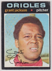 Grant Jackson Baltimore Orioles Topps 1971 #392 Poor to Fair - TheCollectorsClub