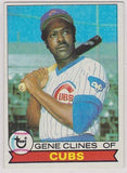 Gene Clines Chicago Cubs Topps 1979  #171 Good - TheCollectorsClub
