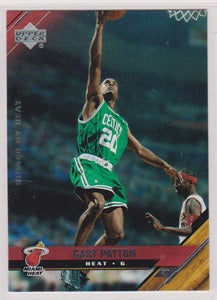 Gary Payton Miami Heat Upper Deck 2005-06 #9
