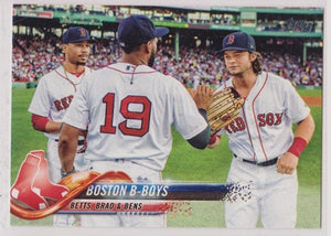 Boston Red Sox Team Topps 2018 #211