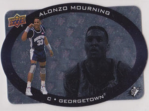Alonzo Mourning Georgetown Hoyas SPx 2014-15 1996 Design Inserts #96-3 - TheCollectorsClub