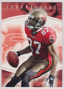 Keenan McCardell Tampa Bay Buccaneers Upper Deck Foundations 2004 #92