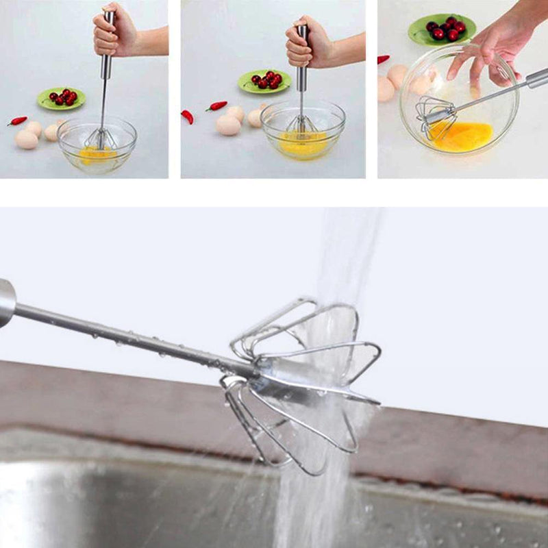 Hirundo Self Spinning Whisk