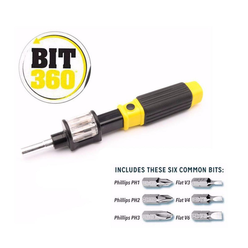6-in-1 Multifunctional Rotating Screwdriver