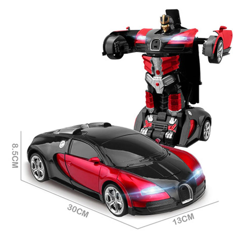 Ultra-Sensing Transformer USB Charging Toy Car