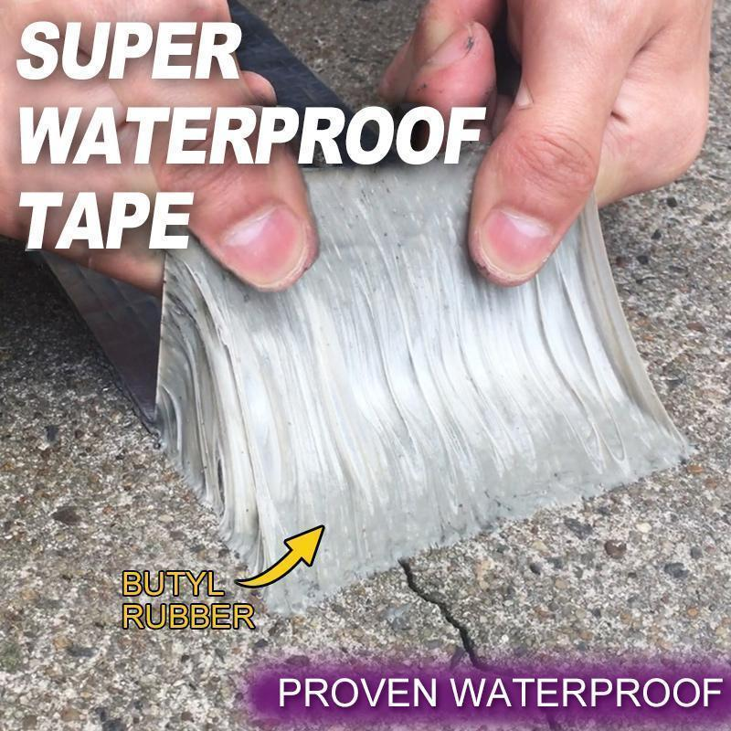Butyl rubber Foil Waterproof Tape