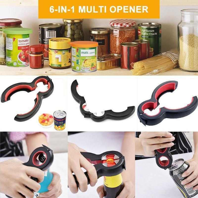 6 in 1 Multifunctional Bottle Opener