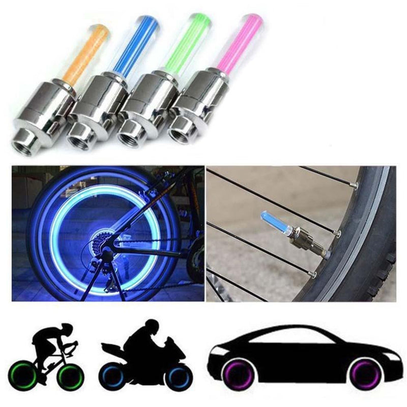 Premium LED Valve Caps For Wheels (2pcs)