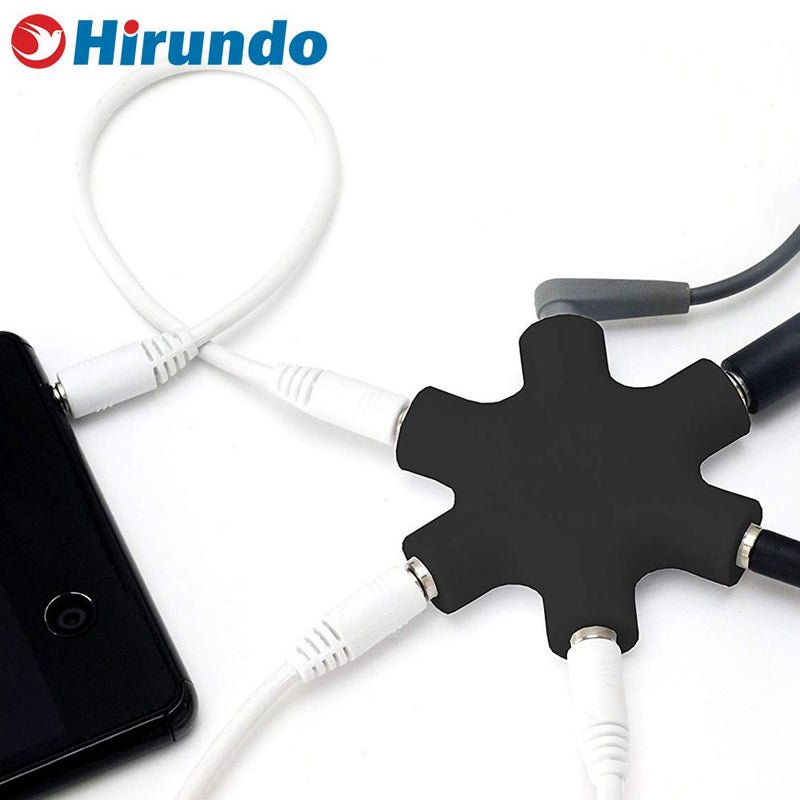 Hirundo Multi Headphone Audio Splitter
