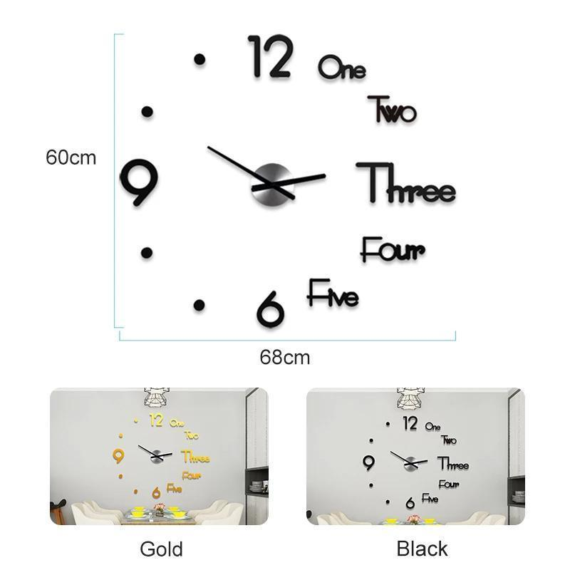 DIY Decorative Wall Clock