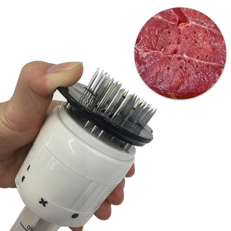 Hirundo Meat Tenderizer - 30 Blades Stainless Steel Professional Kitchen Cooking Tool