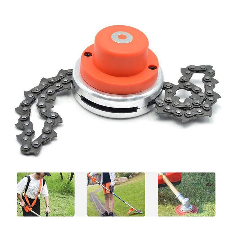Garden Grass Stainless Steel Chain Trimmer Head