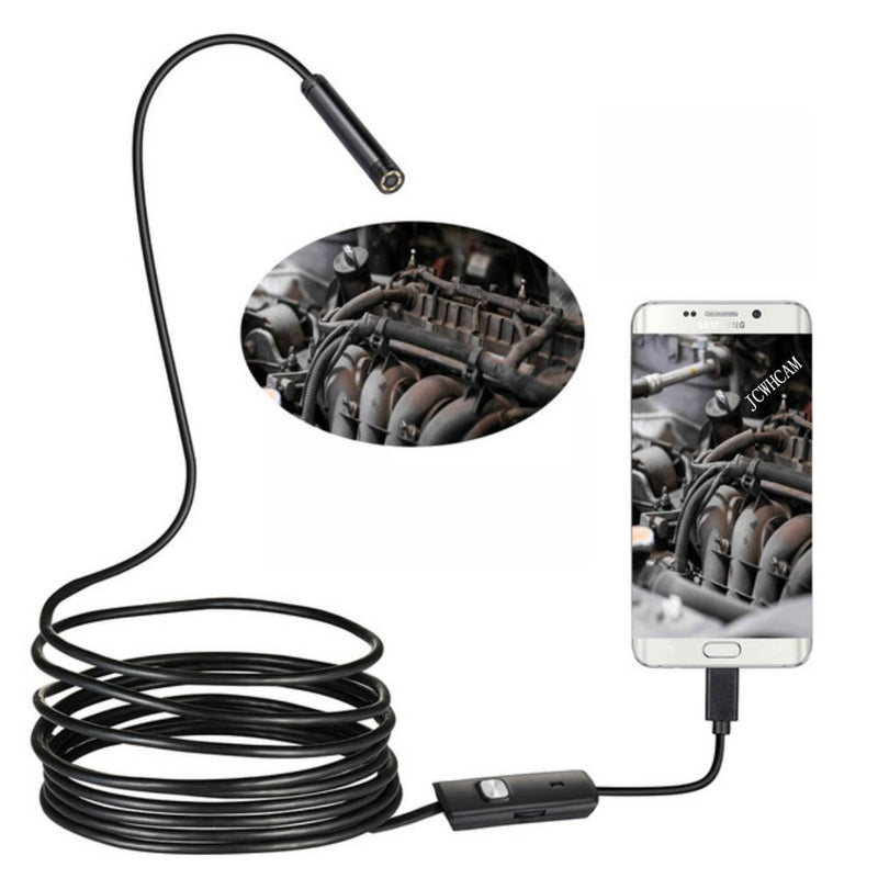 🔥2021 New Year Sale - Semi-Rigid Flexible Auto Focus WiFi Endoscope Camera