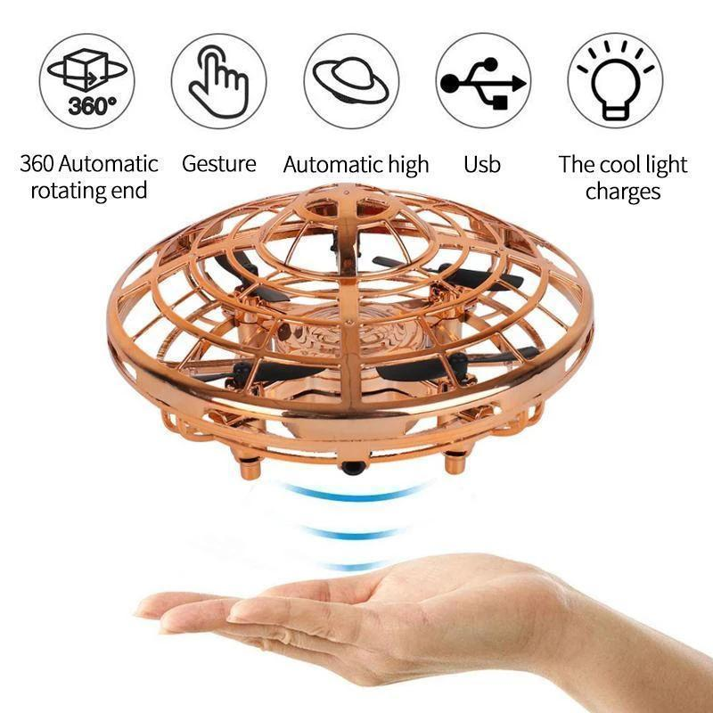 Mini UFO induction aircraft
