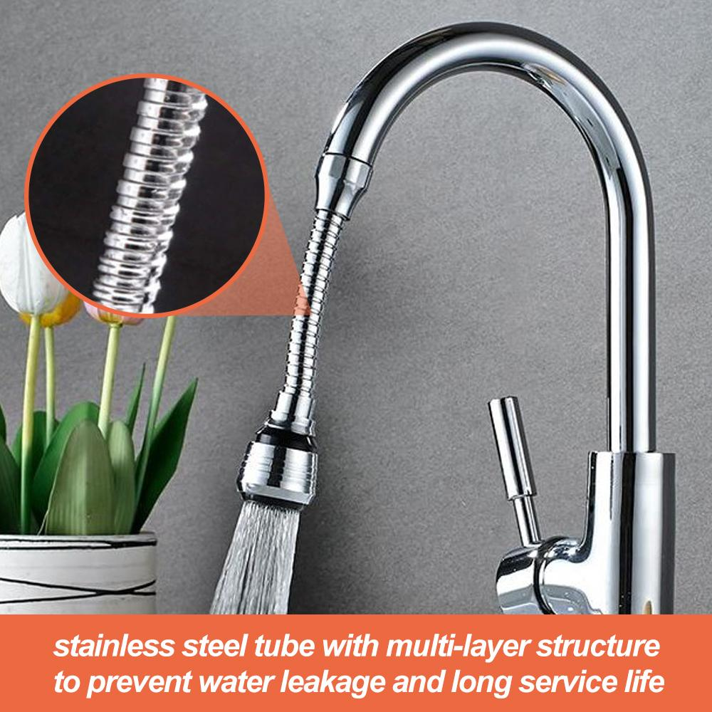 Stainless Steel Flexible Faucet Extension Sprayer