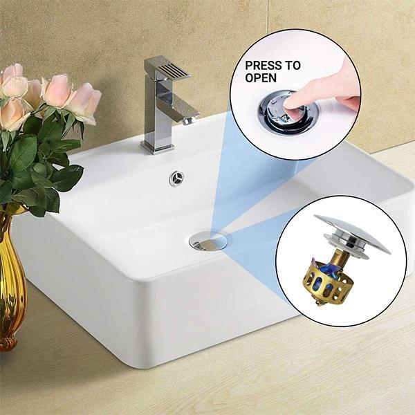 Basin Pop-up Drain Filter