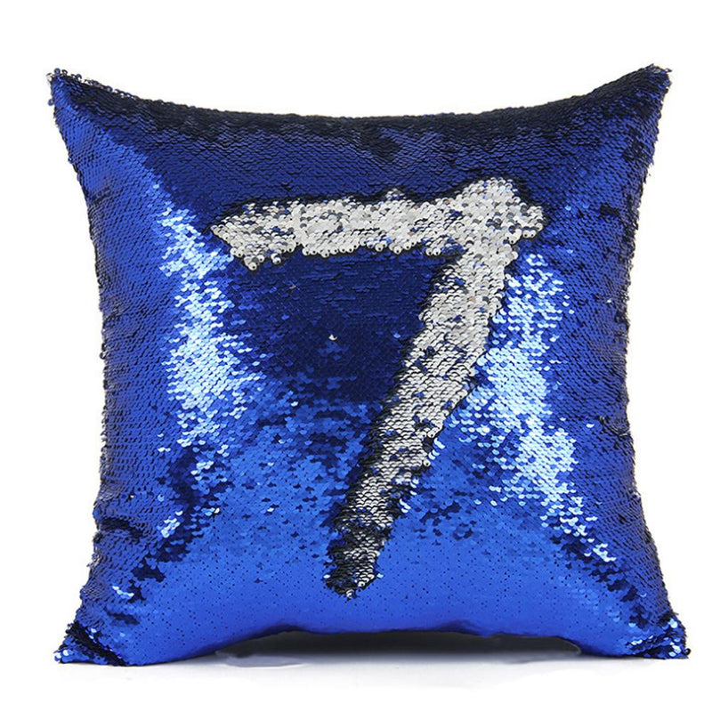 Hirundo Amazing Reversible Sequin Pillow, insert included