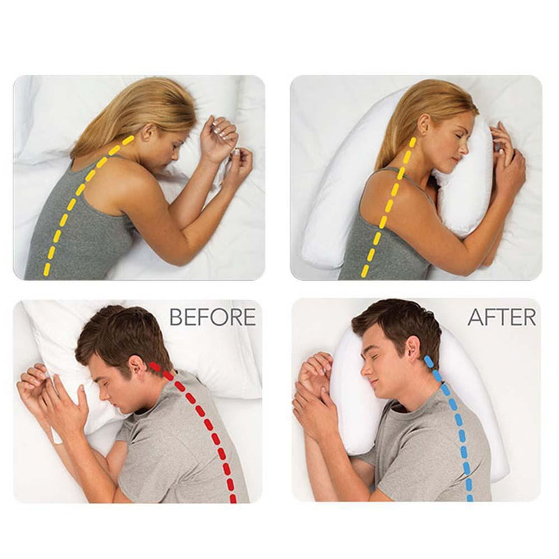 Side Sleeper Contour Body Pillow
