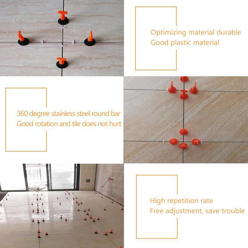 DOMOM Reusable Tile Leveling System (50PCS Pack)