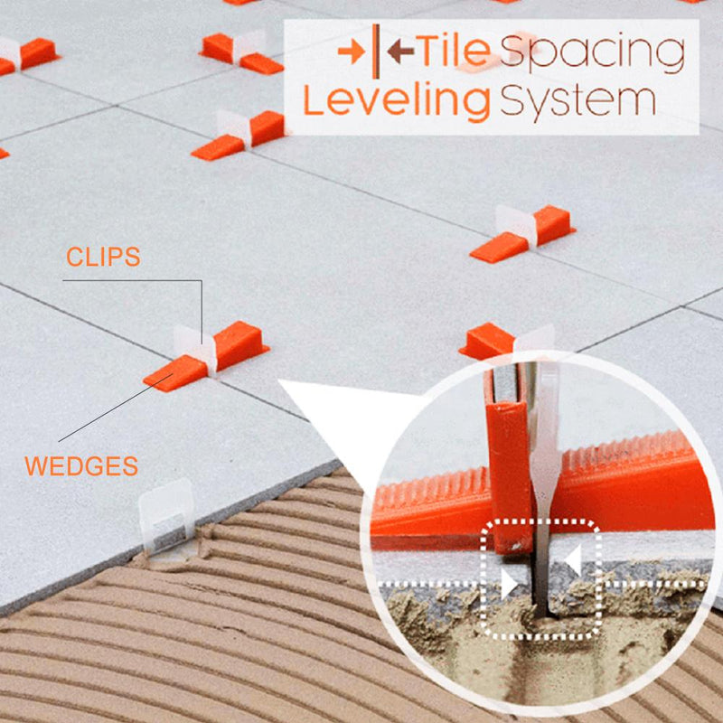 Hirundo Tile Leveling Spacing System