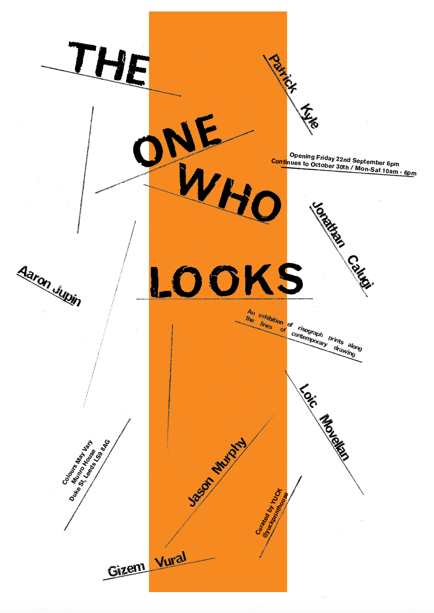 'The One Who Looks' Installation & Exhibition by Yuck Print