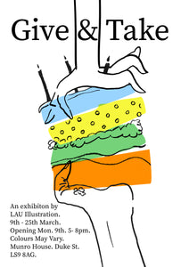 Give & Take: An Exhibition By LAU Illustration Students