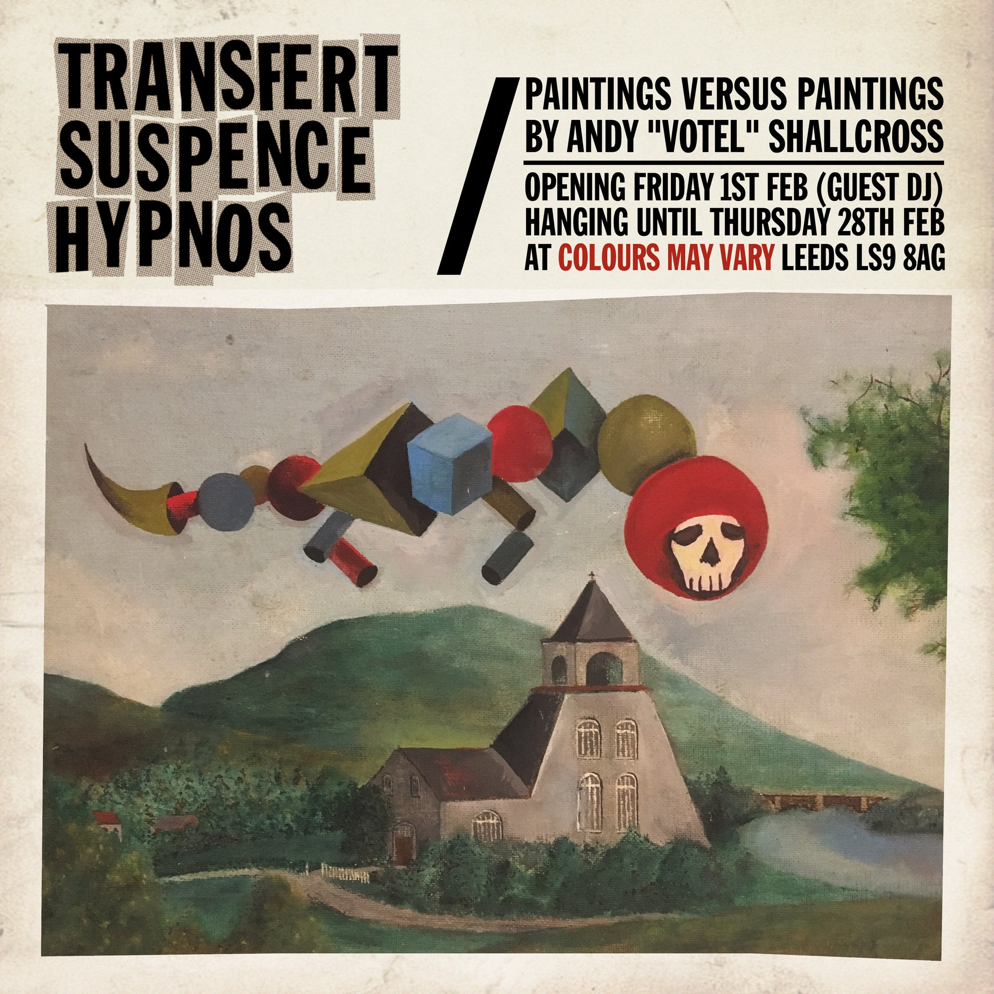 Transfert-Suspence-Hypnos by Andy Votel