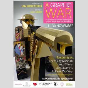A Graphic War by Ian Kirkpatrick - 1st November - 30th November 2015