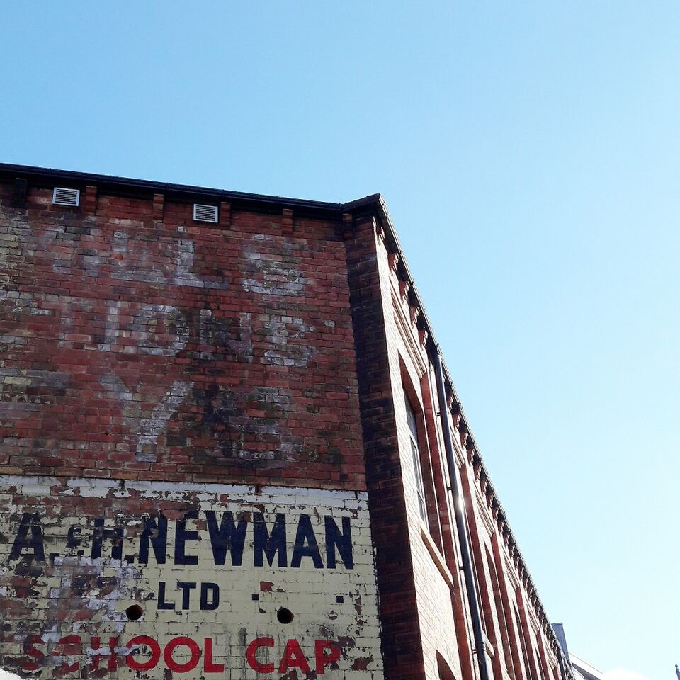 Ghost sign - Typesetting