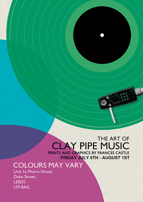 The Art of Clay Pipe Music. Colours May Vary
