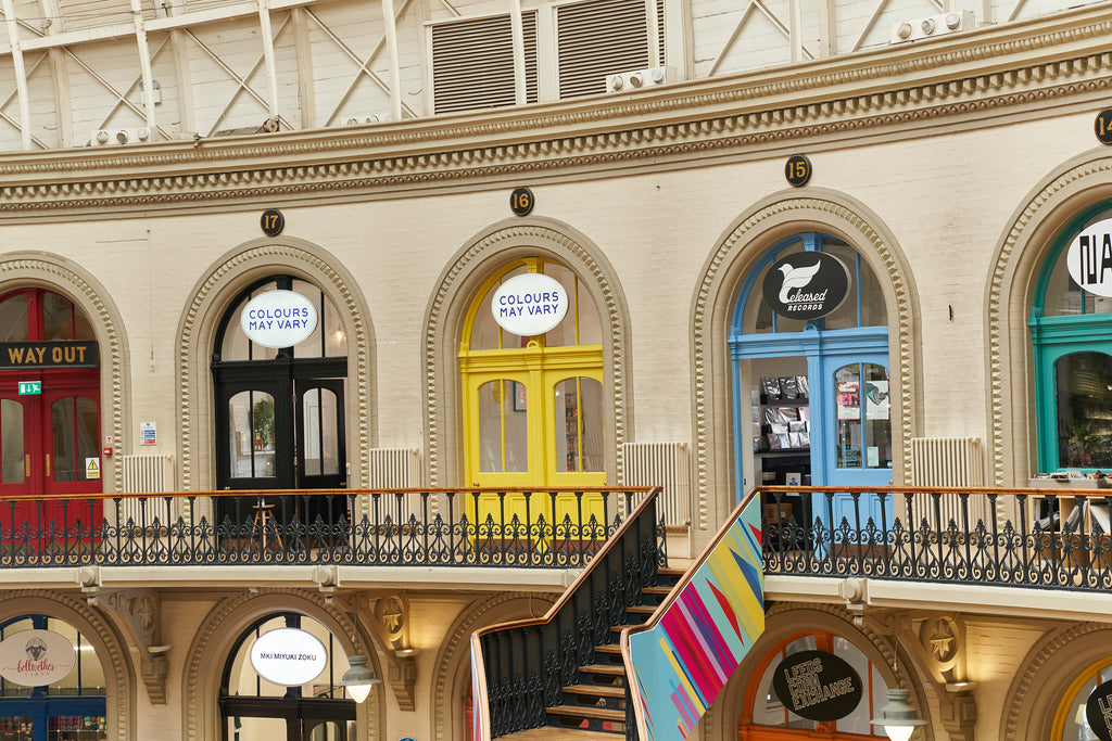 Colours May Vary exterior, The Corn Exchange, Sept 2021 (photo by Justin Slee)