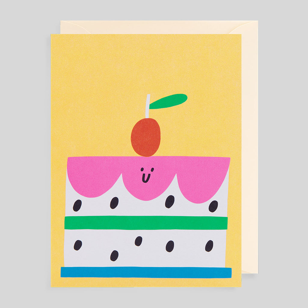 Susie Hammer for Lagom - Cake Card - Colours May Vary