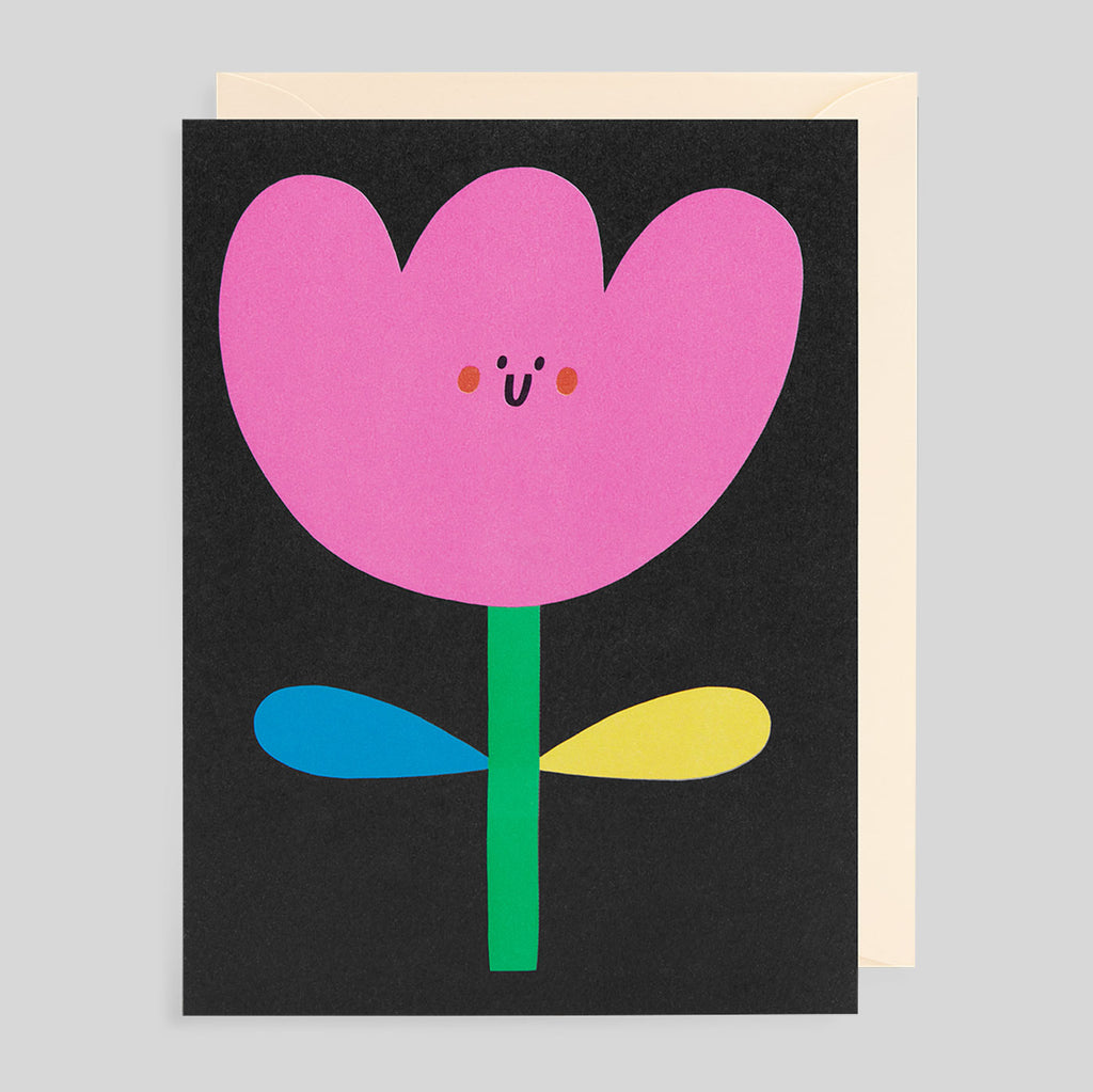 Susie Hammer for Lagom - Flower Card - Colours May Vary