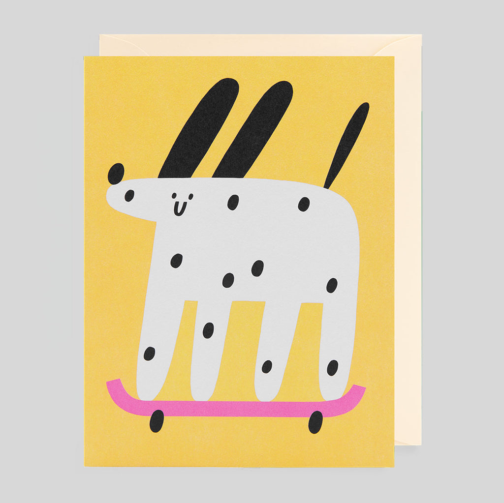 Susie Hammer for Lagom - Dog Card - Colours May Vary