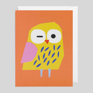 Ekaterina Trukhan for Lagom - Owl Card - Colours May Vary