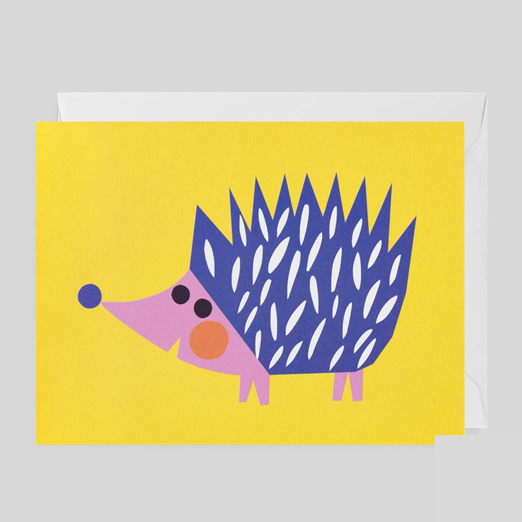 Ekaterina Trukhan for Lagom - Hedgehog Card - Colours May Vary