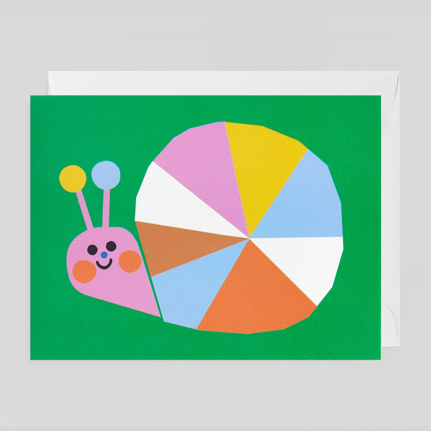 Ekaterina Trukhan for Lagom - Snail Card - Colours May Vary